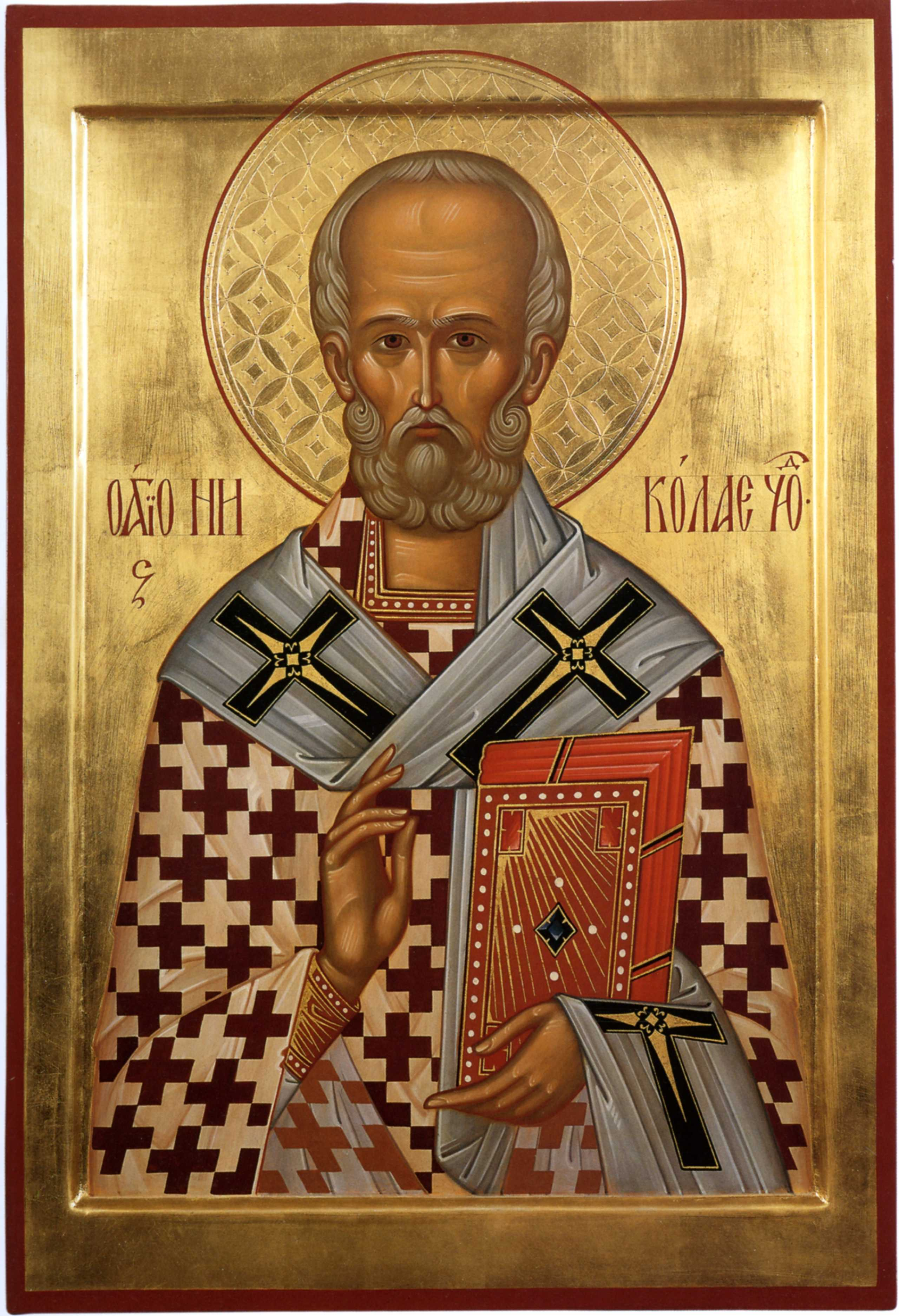 икона святого николая: